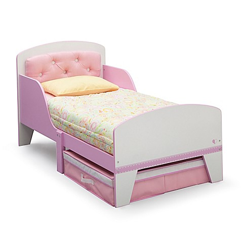 Buy DeltaTM Jack Amp Jill Toddler Bed In Pink White With