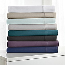image of Canadian Living Luxury Rayon From Bamboo and Cotton Blend Sheet Set