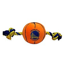 image of Official NBA Golden State Warriors Basketball Pet Toy