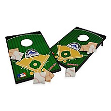 image of MLB Colorado Rockies Tailgate Toss Cornhole Set