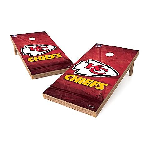 Nfl Kansas City Chiefs Regulation Cornhole Set Bed Bath
