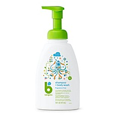 image of Babyganics® 16 oz. Foaming Shampoo + Body Wash in Fragrance-Free