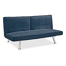 image of Serta Mirano Adjustable Microfiber Sofa