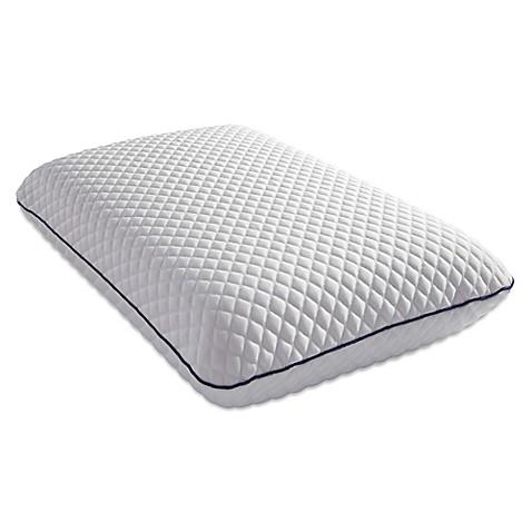 Pure Breeze Bliss Cool Gel Memory Foam Pillow Bed Bath