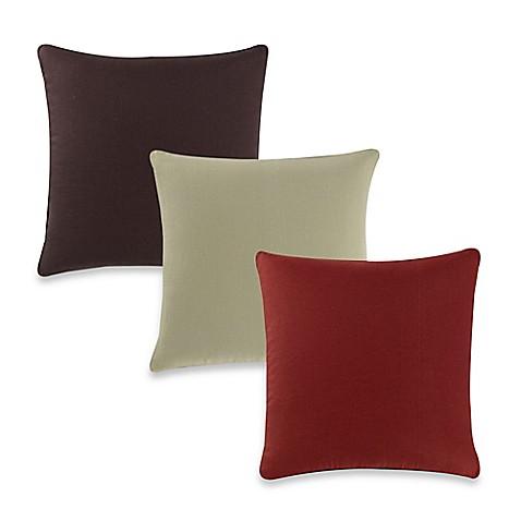 20 Inch Square Decorative Pillows : Aura Silki Box 20-Inch Square Throw Pillow - Bed Bath & Beyond