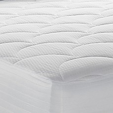 image of Therapedic® 500-Thread Count Tencel® Waterproof Mattress Pad in White
