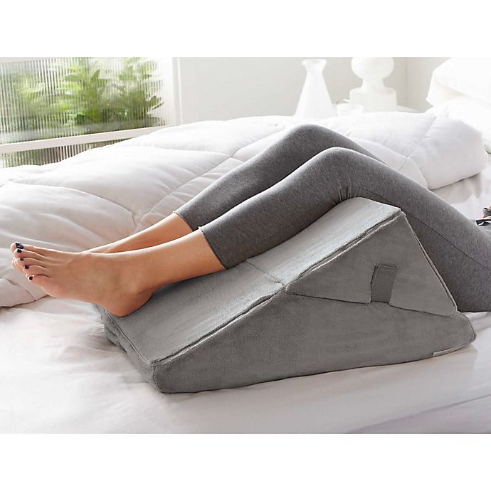 Brookstone 4 In 1 Bed Wedge Support Pillow Bed Bath Beyond