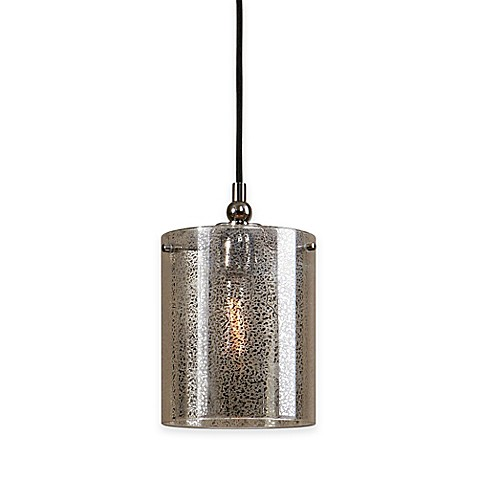 Buy Uttermost Mariano 1 Light Mercury Glass Mini Pendant From Bed Bath Beyond