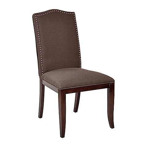 Buy Office Star Products Hanson Dining Chair In Chocolate From Bed Bath