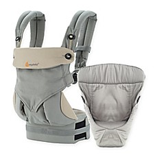 image of Ergobaby™ 2016 Four-Position 360 Carrier Bundle of Joy Baby Carrier in Grey