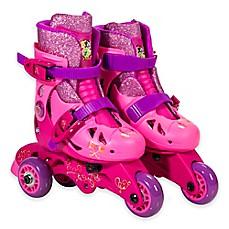 Image Of Playwheels Disney Princess Convertible 2 In 1 Kids Skates