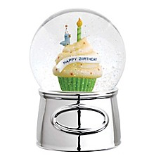 image of Reed & Barton® Let's Celebrate Happy Birthday Musical Water Globe