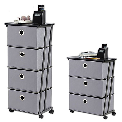 Studio 3b Storage Cart In Grey Bed Bath Amp Beyond
