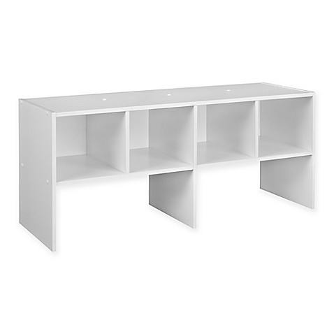 ClosetMaidu0026reg; Shelf Organizer In White