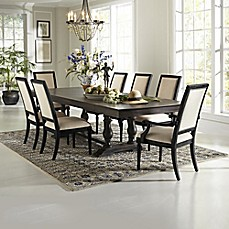 Image Of Pulaski 9 Piece Montserrat Dining Table And St. Raphael Chairs Set