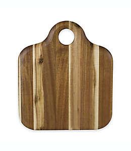 Tabla para picar Architec® Homegrown Gourmet Harvest Farm, de madera de acacia de 30.48 cm x 35.56 cm
