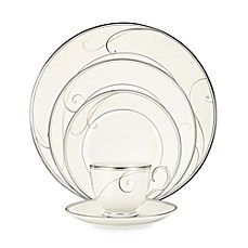 image of Noritake® Platinum Wave Dinnerware Collection
