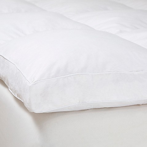 nottingham home 2inch down featherbed mattress topper