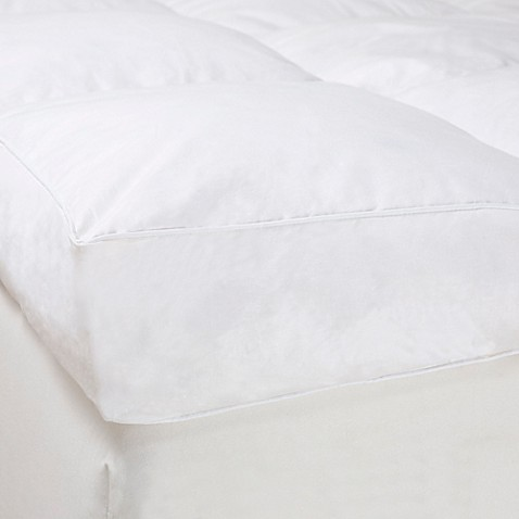 nottingham home 4inch gusset down featherbed mattress topper