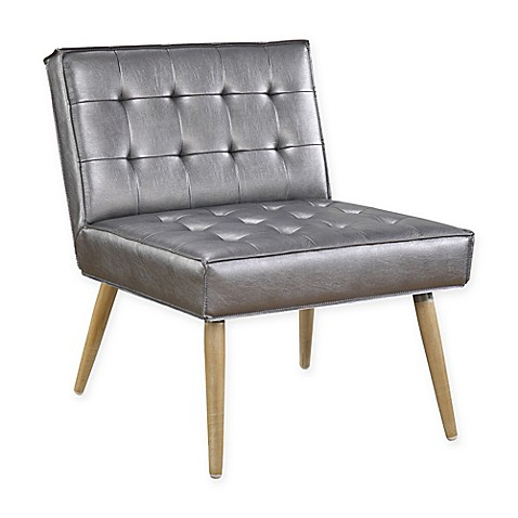 Amity tufted accent chair bed bath beyond Tufted accent chair