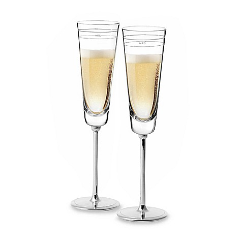 kate spade new york Darling Point™ Toasting Flutes (Set of 2)