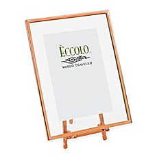 image of Eccolo® 4-Inch x 6-Inch Copper-Framed Floating Easel