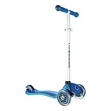 image of Globber Scooters 3-Wheel Adjustable Scooter in Dark Blue