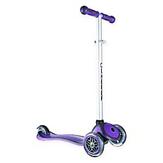 image of Globber Scooters 3-Wheel Adjustable Scooter in Purple