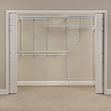 Marvelous Image Of ClosetMaid® ShelfTrack® 5 Foot To 8 Foot Wire Closet Organizer