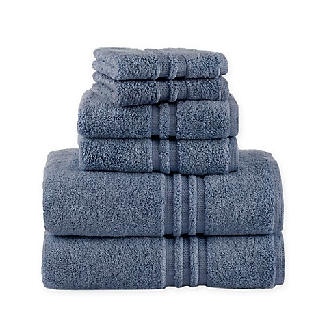 Buy Under The Canopy Unity 6 Piece Towel Set In Blue From