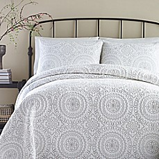 image of Jessica Simpson Medallion Coverlet