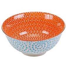 image of Certified International Chelsea Mix and Match Aqua Swirl 6.25-Inch Bowl