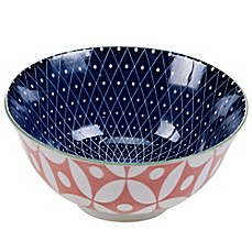 image of Certified International Chelsea Mix and Match Spiral Geo 6.25-Inch Bowl