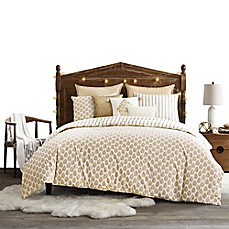 image of Tangier Duvet Cover Set in Gold