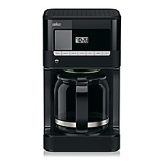 Braun BrewSense KF7000BK 12 Cup Drip Coffee Maker With PureFlavor Brewing  System