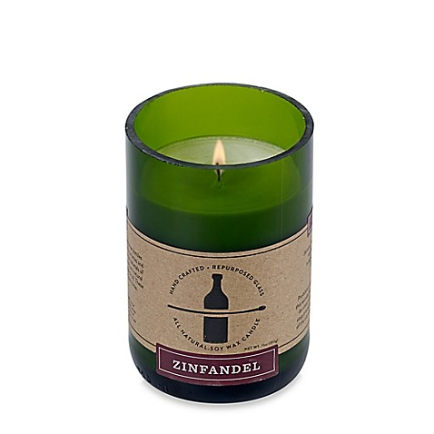 buy zinfandel scented soy wax candle from bed bath