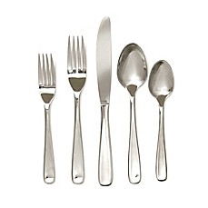 image of Hampton Forge Balance Mirror 20-Piece Flatware Set