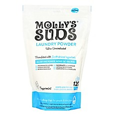 image of Molly's Suds™ 120-Load Concentrated Laundry Powder with Peppermint Essential Oil