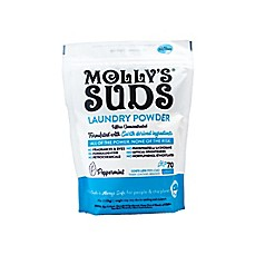 image of Molly's Suds™ 70-Load Concentrated Laundry Powder with Peppermint Essential Oil