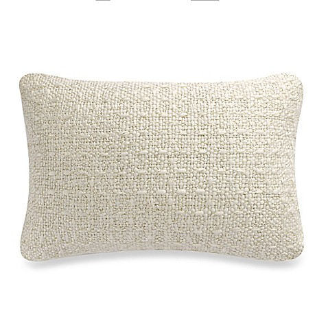 Buy Tangier Chunky Metallic Oblong Throw Pillow in Gold from Bed Bath & Beyond