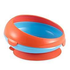 image of Tomy Toddler Suction-Bottom Boy Bowl in Red/Blue