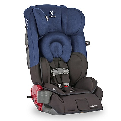 diono radian rxt convertible car seat and booster in black cobalt buybuy baby. Black Bedroom Furniture Sets. Home Design Ideas
