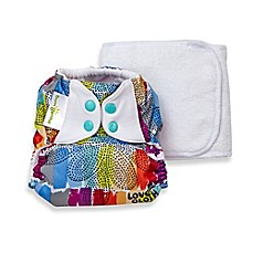 image of bumGenius™ 5.0 One-Size Original Pocket Snap Cloth Diaper in Love