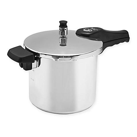 Cook Prep Eat™ 12 qt. Aluminum Pressure Cooker - Bed Bath ...