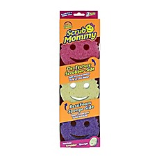 image of Scrub Daddy® 3-Count Scrub Mommy® Sponges