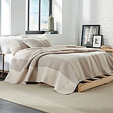 image of Weave Ink Brompton Reversible Coverlet Set