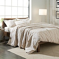 image of Weave Ink Dartford Bridge Matelassé Duvet Cover Set