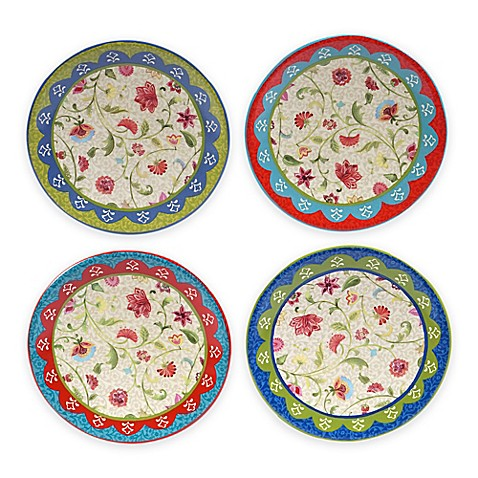 Buy certified international anabelle canap plates set of for What are canape plates