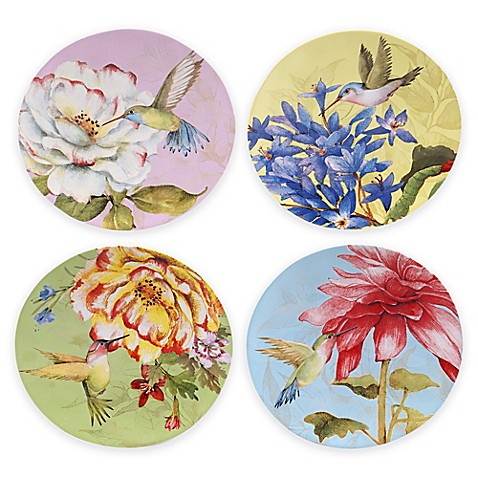 Buy certified international canap plates set of 4 from for What is a canape plate