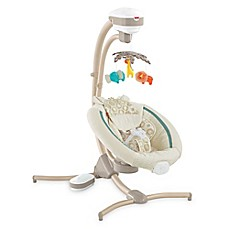 image of Fisher-Price® Soothing Savanna Cradle 'n Swing